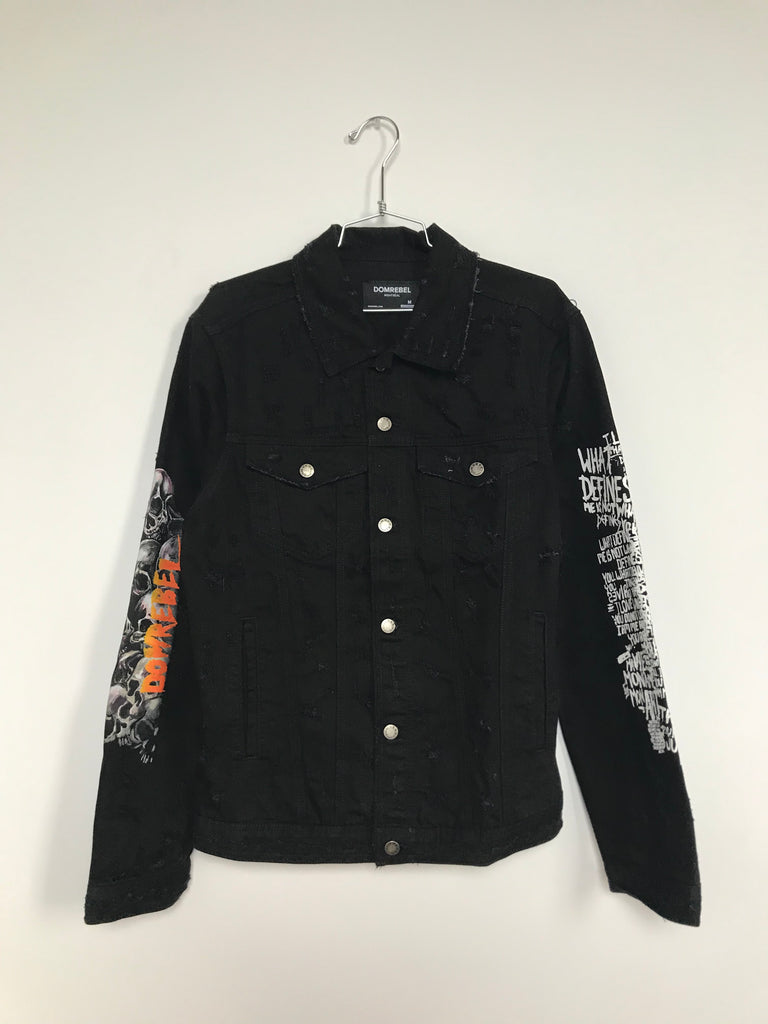 HEADS JEAN JACKET (MEDIUM)