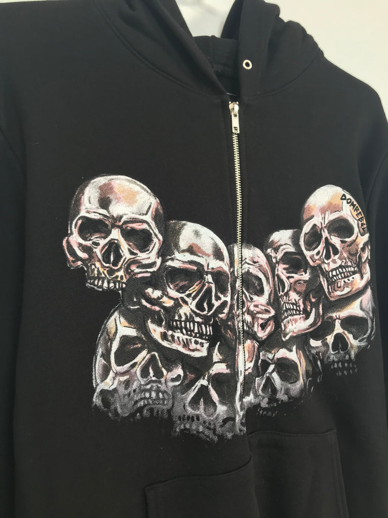 HEADS ZIP HOODIE (MEDIUM)
