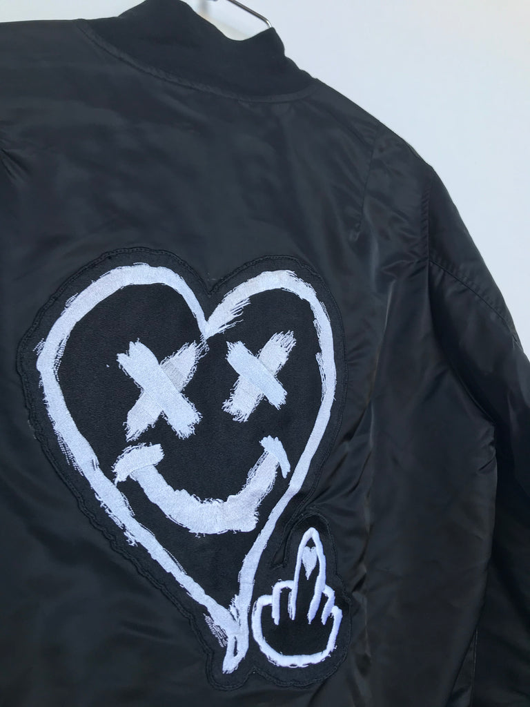 LOVERBOY BOMBER JACKET (MEDIUM)