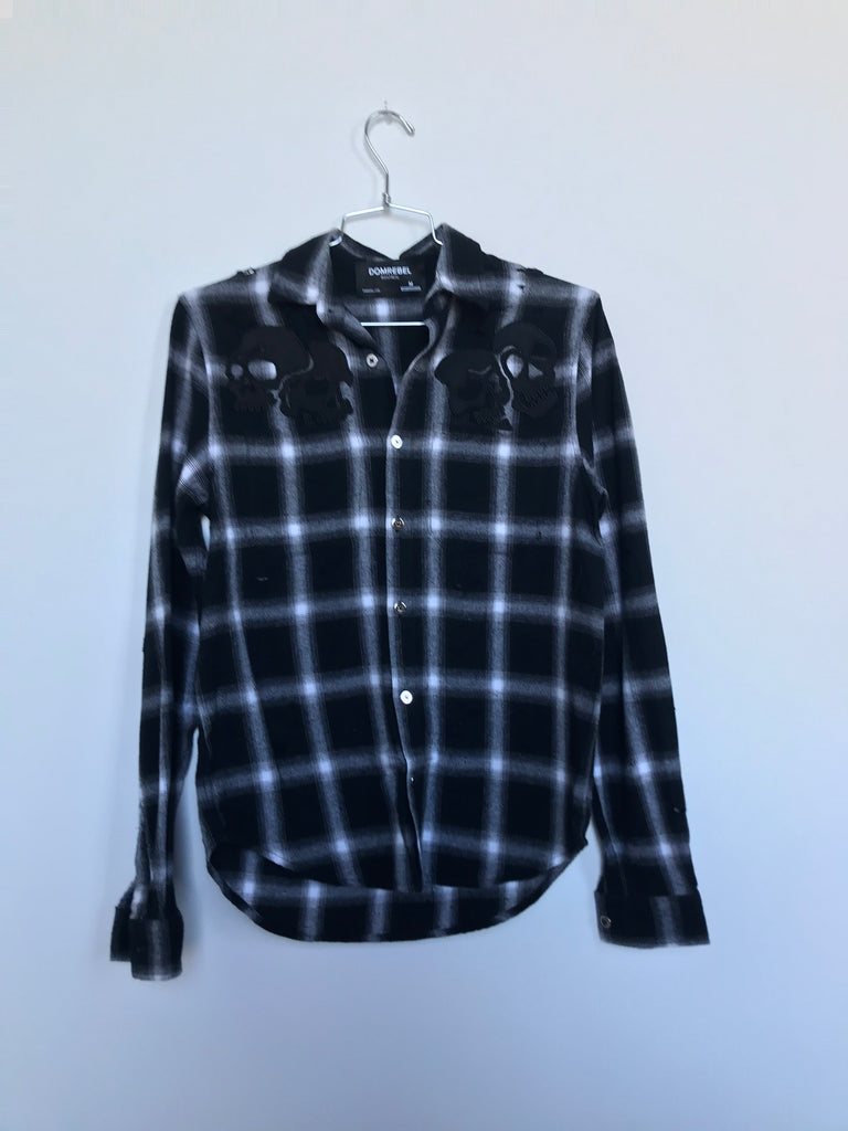 AMIGOS PLAID SHIRT(MEDIUM)