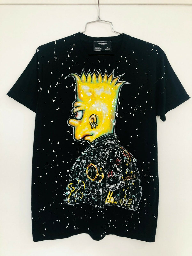 DUDE T-SHIRT WITH PAINT SPLATTER (LARGE)