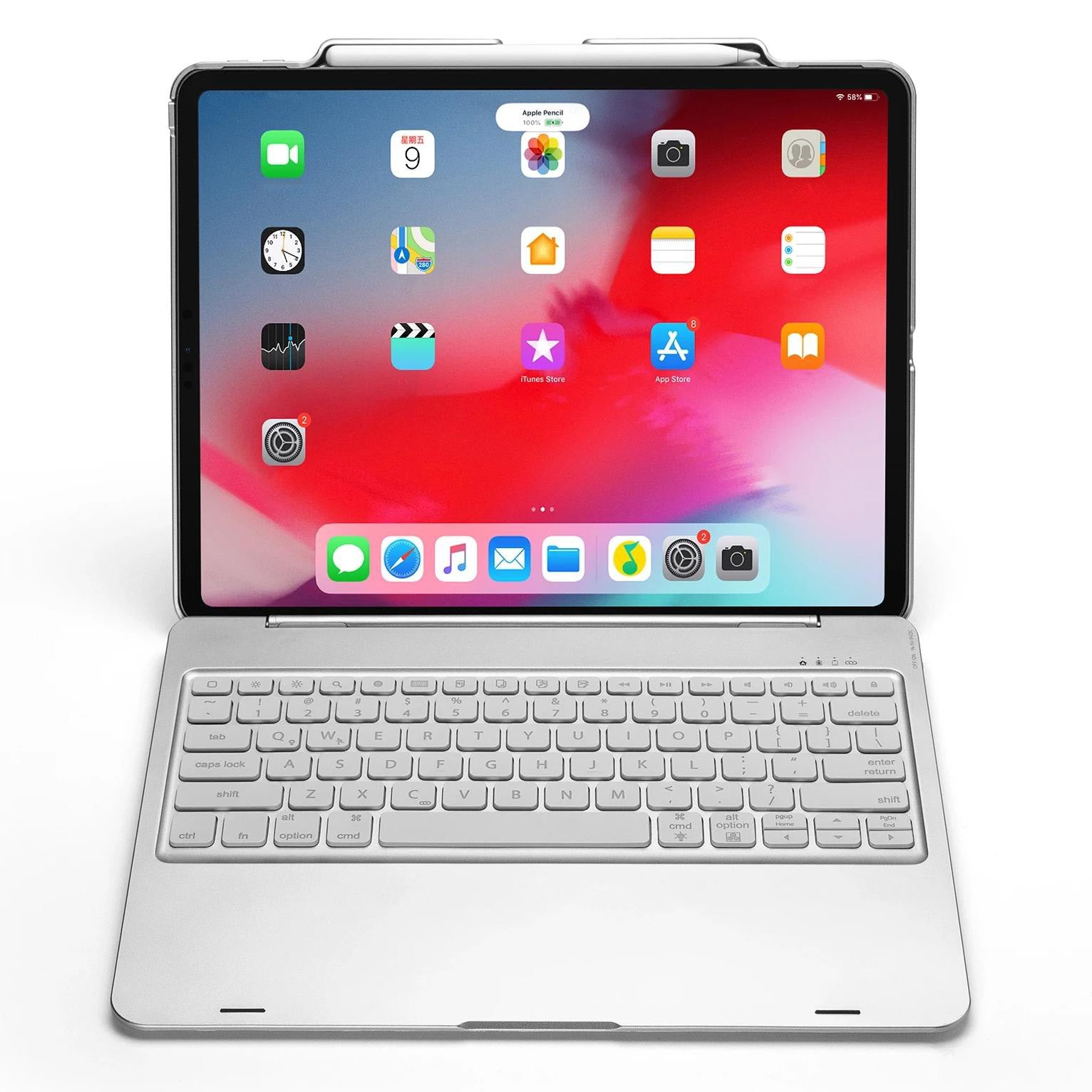 "Premium Smart Case For iPad Pro 12.9"" (3rd Gen-2018)"