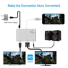 4 in 1 Lighting Video & Audio Hub