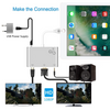 iPad & iPhone Lighting Video & Audio Hub