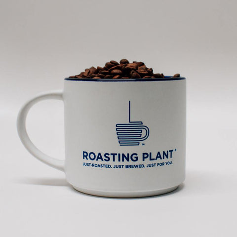 Roasting Plant Coffee Ceramic Mug - 16oz