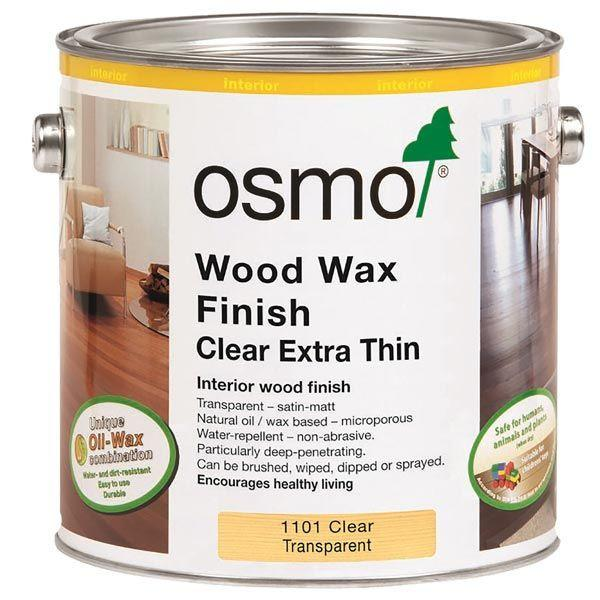 Osmo Wood Wax Finish Extra Thin Clear 1101