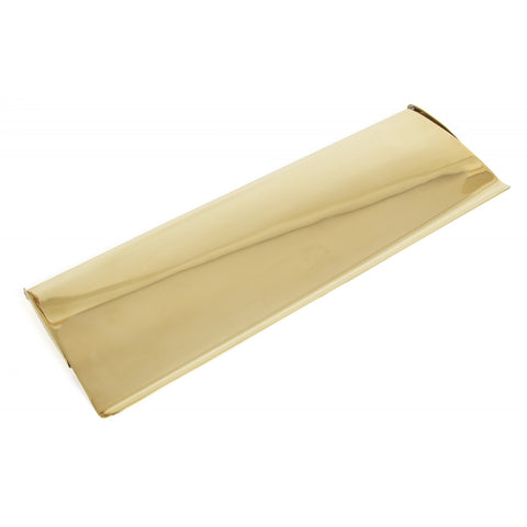 From the Anvil | 33051 Polished Brass Large Letterplate Cover | ATC