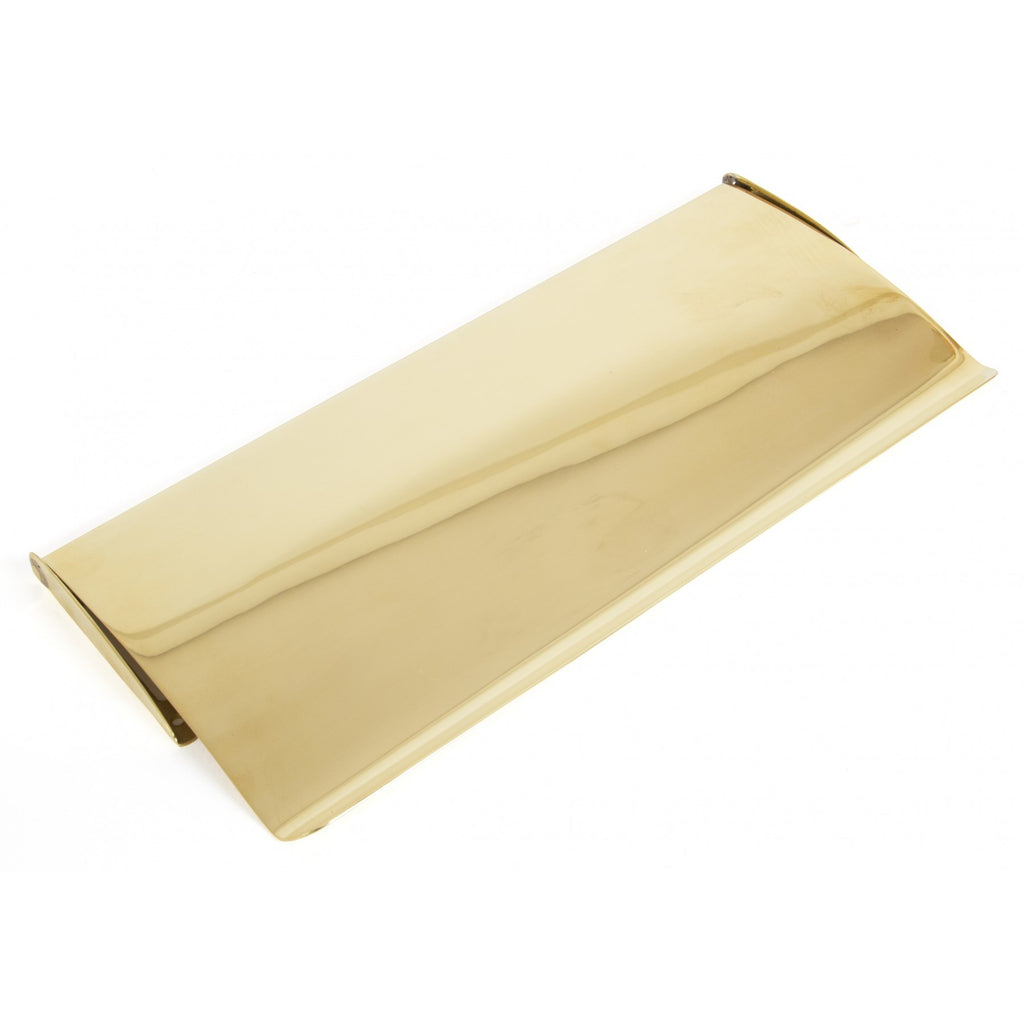 Anvil 33061 Polished Brass Internal Letter Plate Box Cover Tidy | ATC