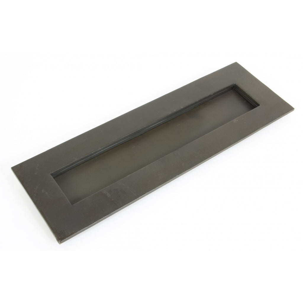 "From the Anvil 33209 Beeswax Cast Large 12"" Letterbox Letterplate 