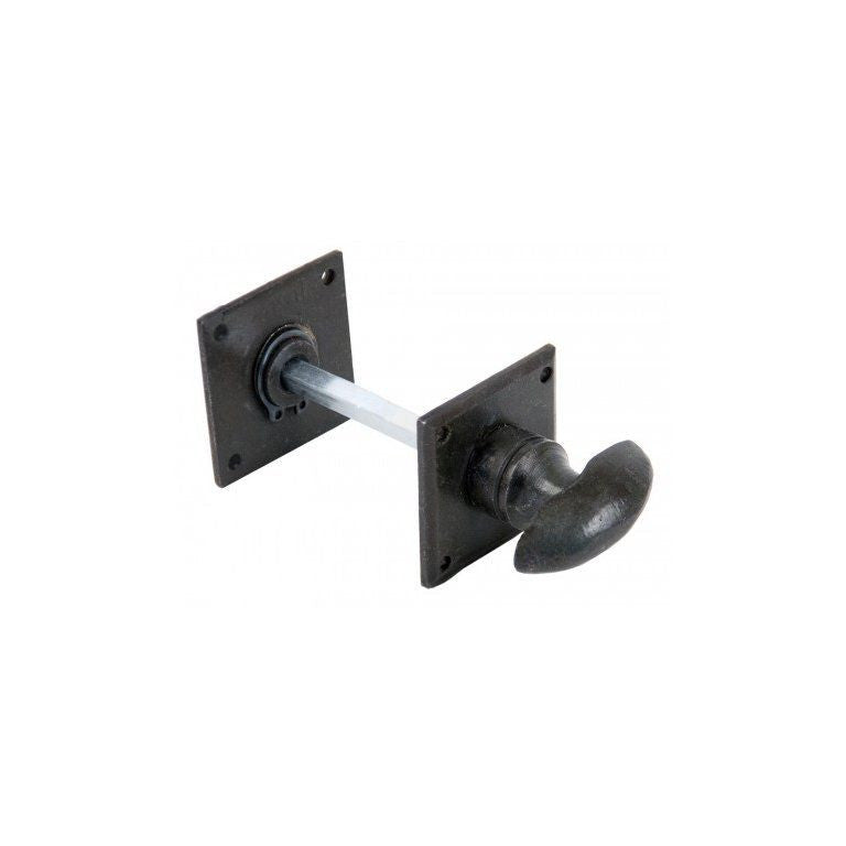 Anvil Black Bronze Pewter Diamond Bathroom Thumbturn Latch | ATC