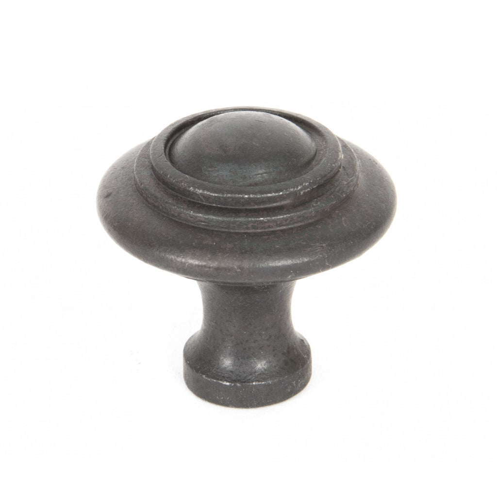From the Anvil Beeswax Black Classic Cabinet Knob | ATC