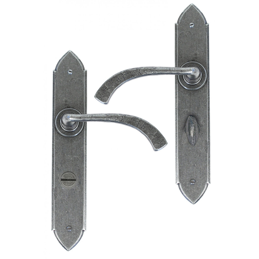 ANVIL 33604//47 PEWTER GOTHIC EURO LOCK SET TRADITIONAL PERIOD ATC