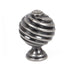 Twist Cupboard Knob  (z)