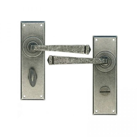 Anvil Avon Lever Bathroom Traditional Period Door Handle Set | ATC