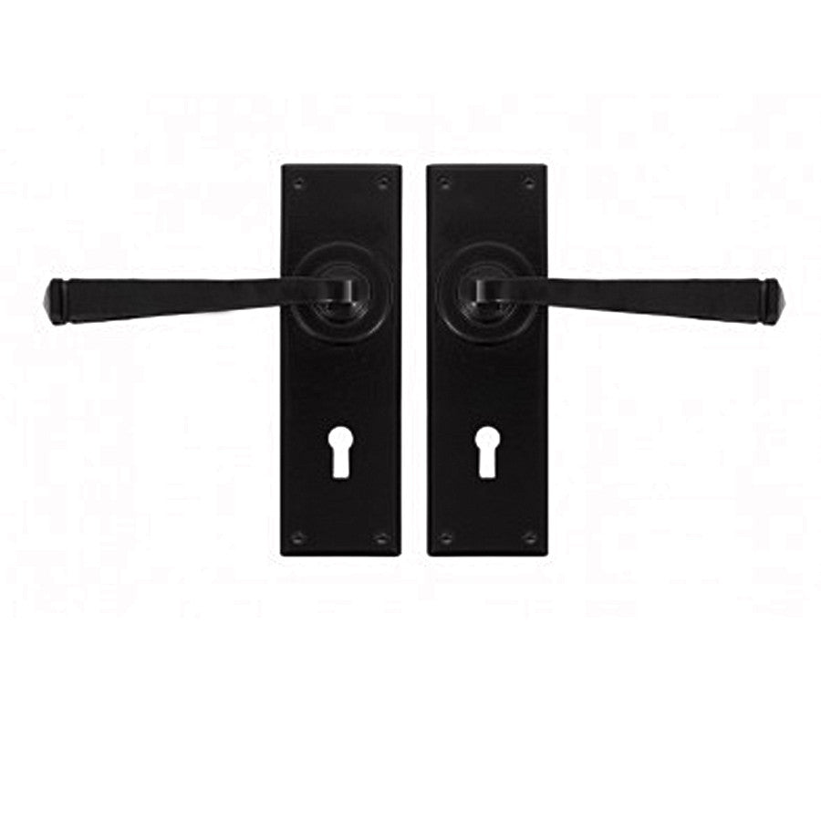 From the Anvil Avon Lever Lock Tradtional Cottage Door Handle Set | ATC