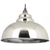 Harborne Pendant Hammered Nickel Interior  (z)