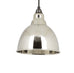 Brindley Pendant Smooth Nickel Interior  (z)
