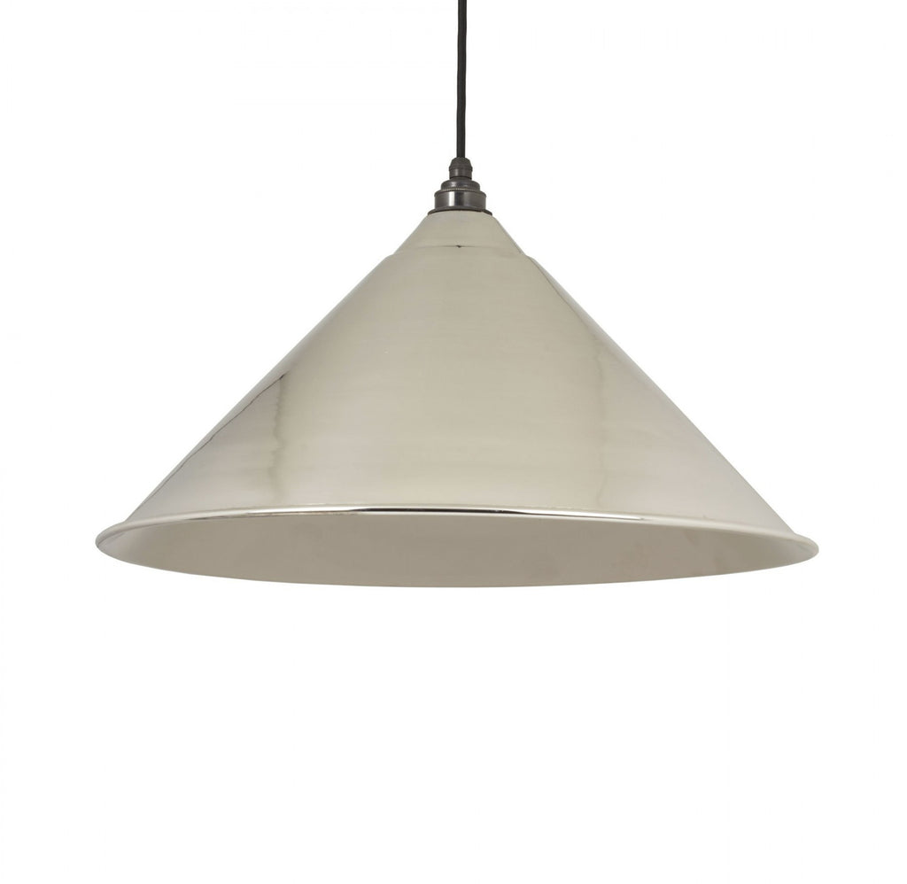 Hockley Pendant Smooth Nickel Interior  (z)