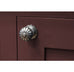 Flower Cabinet Knob with Backplate  (z)