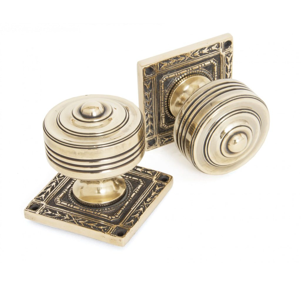 Tewkesbury Square Mortice Knob Set  (z)
