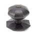 External Octagonal Centre Door Knob (Single)  (z)
