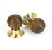 Wooden Cottage Mortice / Rim Knob Set  (z)