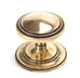 Period Art Deco Centre Door Knob (Single)  (z)