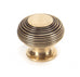 Antique Brass Beehive Knob  (z)
