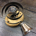 Nickel Flower Victorian Butlers Servants Antique Traditional Bell | ATC