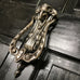 Antique Nickel Victorian Rams Head Cottage Door Knocker | ATC