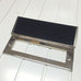 Polished Nickel Traditional Period Letterbox Tidy Draft Excluder | ATC