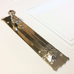 Arts and Crafts Nickel Chrome Silver Door Bolt | ATC