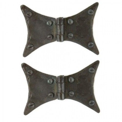 Anvil Butterfly Hinge in Large or Small in Beeswax, Black or Pewter | ATC