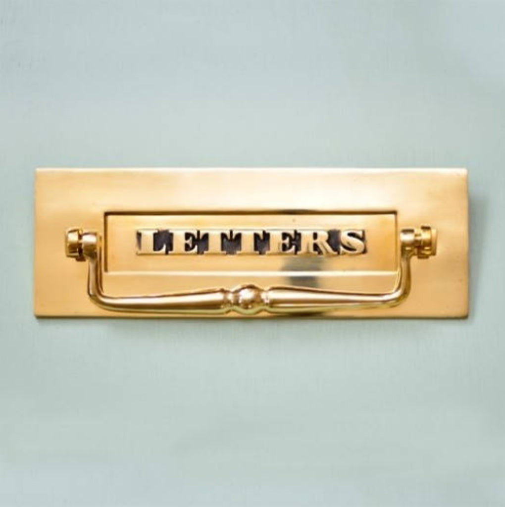 Classic 'Letters' Letterbox with Clapper