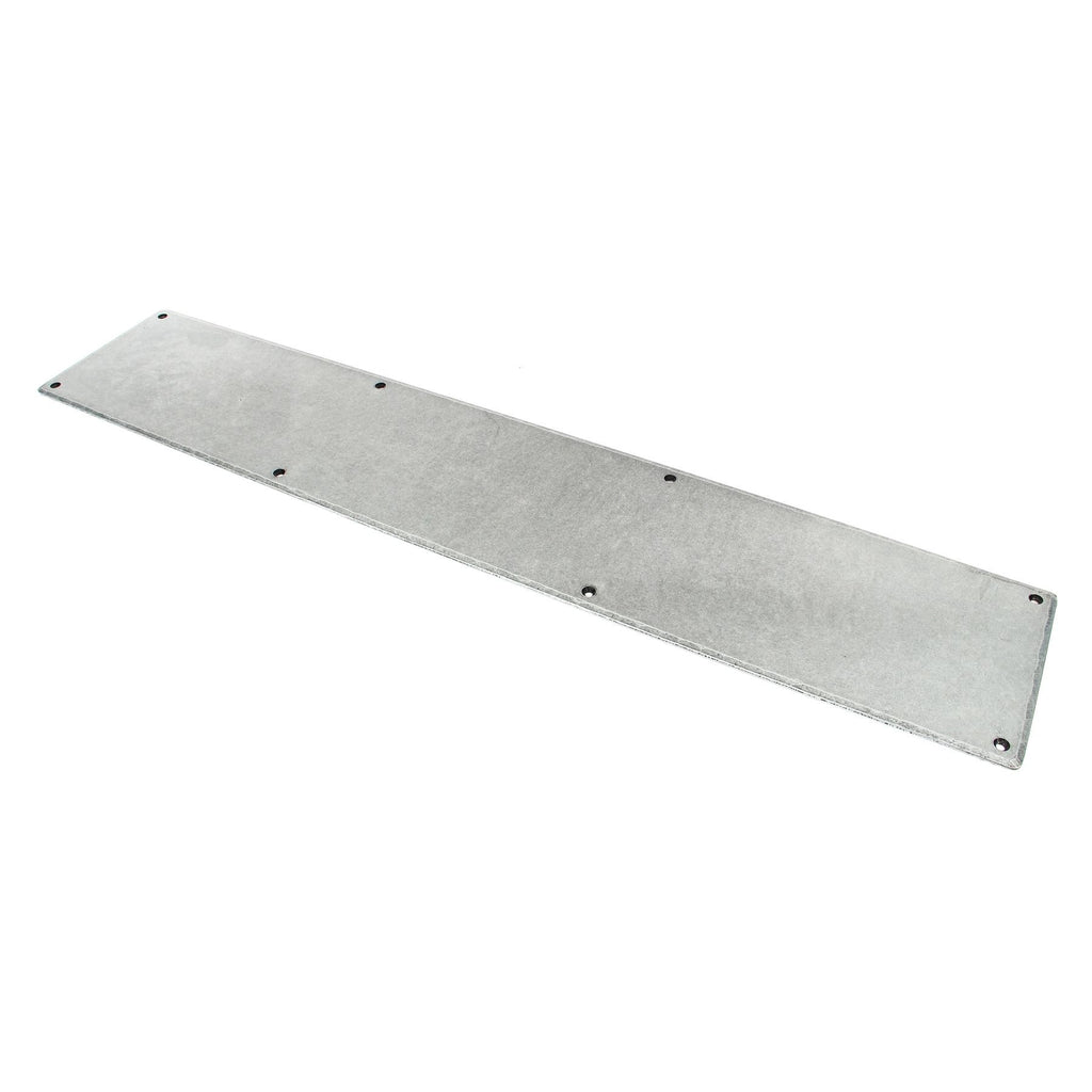 Anvil Pewter & Beeswax Traditional Commercial Door Kick Plates ...