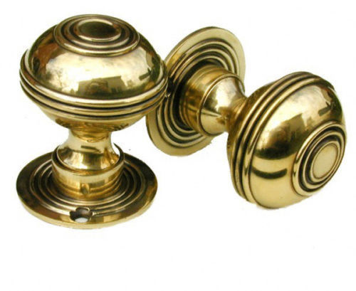 Brass Bloxwich Regency Door Knobs