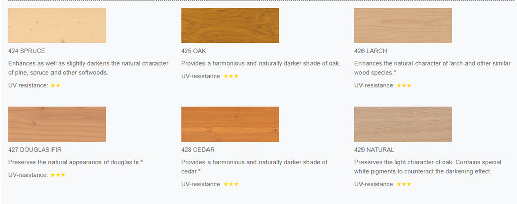 Osmo UV Protection Oil Tints