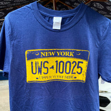 10025 Upper West Side NY license plate