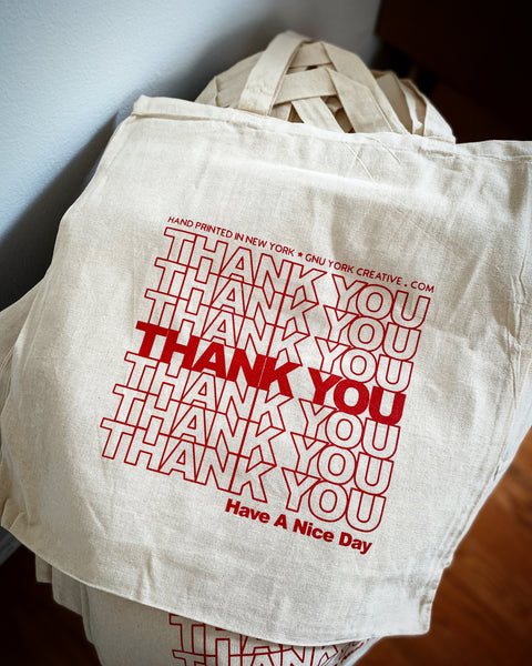 Thank You Bag tote