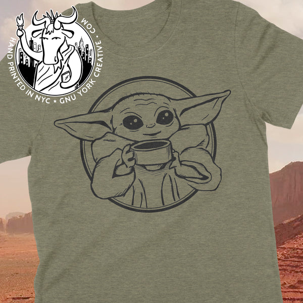 The Cutest Child in the Galaxy (Baby Yoda drawing)