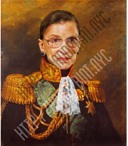 RBG Portrait Print - 5x7 or 8x10
