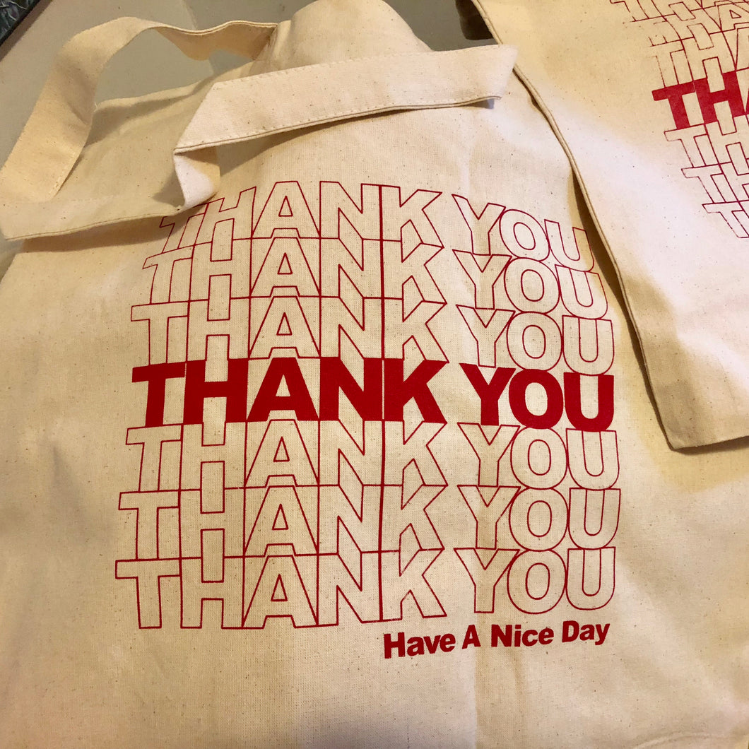 Reusable THANK YOU Bag
