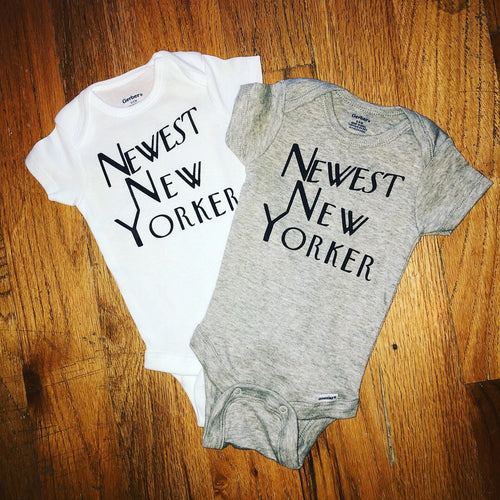 Newest New Yorker Onesie
