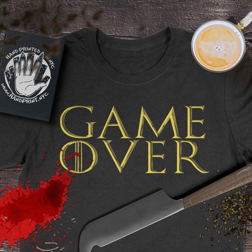 Game Over (Game of Thrones inspired)