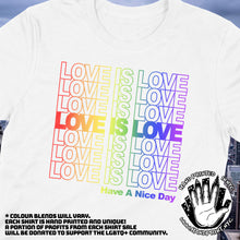 Love is Love (PRIDE NY Thank You Bag style)