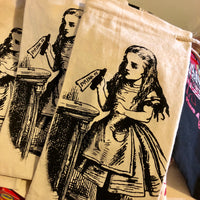 "Alice ""Drink Me"" Wine Bottle Bag"