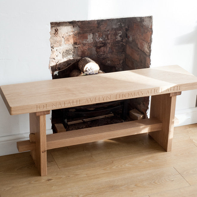Oak Dining Bench