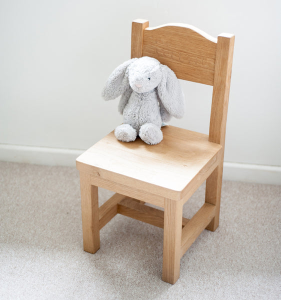 Childrens handcrafted chair