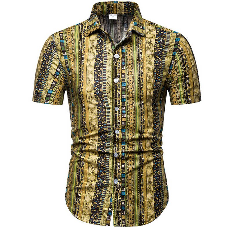 Fashion Slim Fit Turn-Down Shirt - fazbima