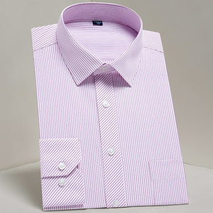 Shirt,Classic Checkered Single Pocket Shirt